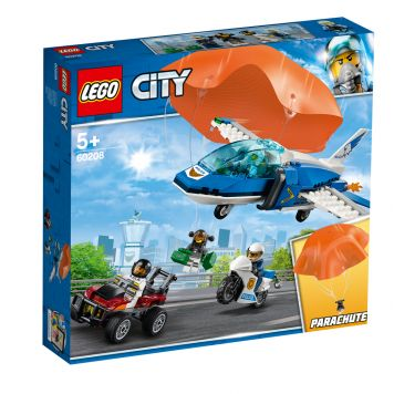 LEGO CITY 60208 Luchtpolitie Parachute-Arrestatie