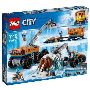 LEGO City 60195 Mobiele Onderzoeksbasis  Op De Noordpool