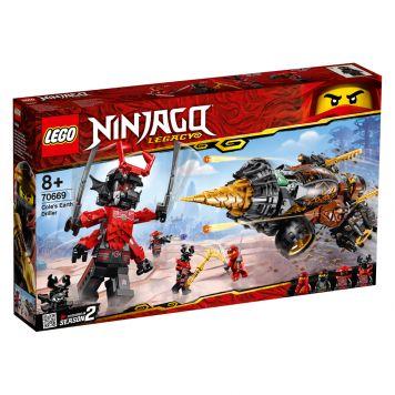 LEGO Ninjago 70669 Cole's Grondboor