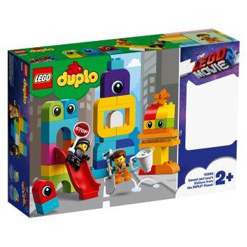 LEGO DUPLO 10895 DE LEGO FILM 2 Visite Voor Emmet & Lucy Van De Duplo Planeet