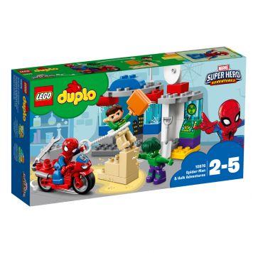 LEGO DUPLO 10876 Avonturen Van Spider-Man En Hulk