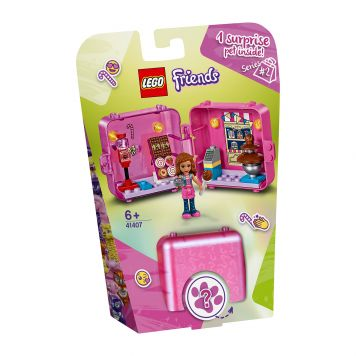 LEGO Friends 41407 Olivia's Winkelspeelkubus