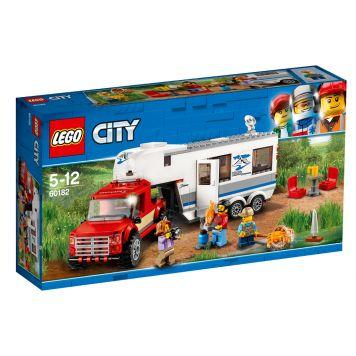LEGO City 60182 Pick Up Truck En Caravan