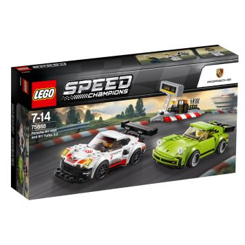 LEGO Speed 75888 Porsche 911 RSR En 911 Turbo 3.0