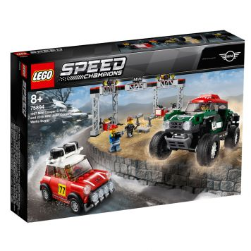 LEGO Speed Champions 75894 1967 Mini Cooper S Rally en 2018 MINI John Cooper Wor