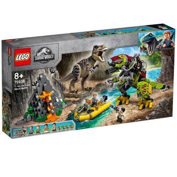 LEGO Jurassic World 75938 T. Rex Vs Dinomecha Gevecht