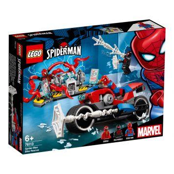 LEGO Marvel Spider-Man 76113 Spider-Man Bike Reddingsactie