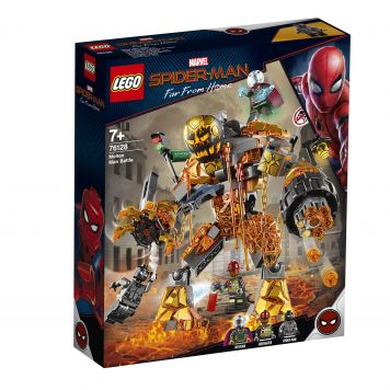 LEGO Marvel Spider-Man 76128 Molten Man Duel