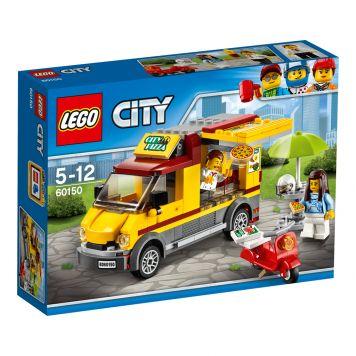 LEGO City Great Vehicles 60150 Pizza bestelwagen