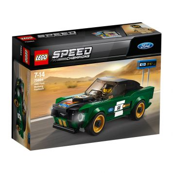 LEGO Speed Champions 75884 1968 Ford Mustang Fastback!