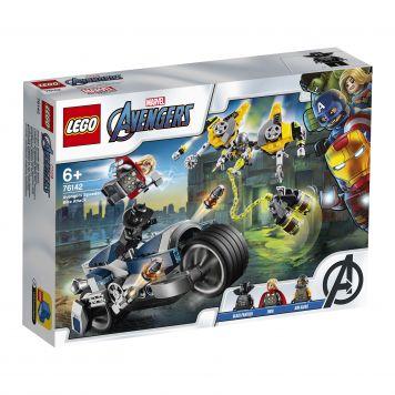 LEGO Marvel Avengers 76142 Avengers Speeder Bike Aanval