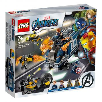 LEGO Marvel Avengers 76143 Avengers Vrachtwagenvictorie