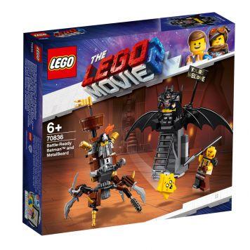 LEGO Movie 70836 DE LEGO FILM 2 Gevechtsklare Batman En Metaalbaard