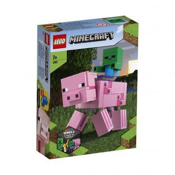 LEGO Minecraft 21157 BigFif Varken Met Babyzombie