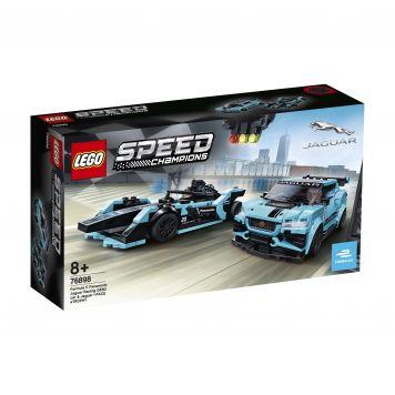 LEGO Speed 76898 Formula E Panasonic Jaguar Racing GEN2 Car & Jaguar I-PACE eTRO
