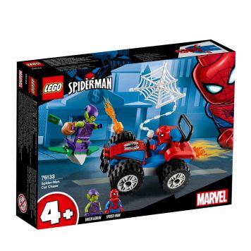 LEGO Marvel Spider-Man 76133 Spider-Man Auto Achtervolging