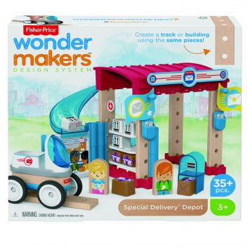 Fisher Price Wonder Makers Postkantoor