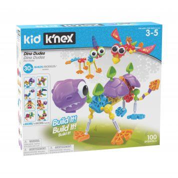K'nex Kid Dino Dudes Building Set