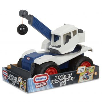 Little Tikes Dirt Diggers Bulldozer Met Sloopkogel