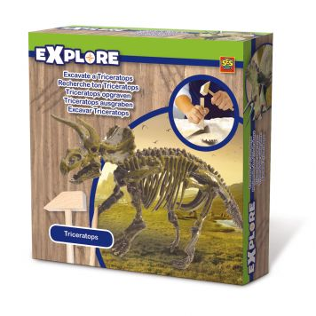 SES Explore Triceratops Opgraven