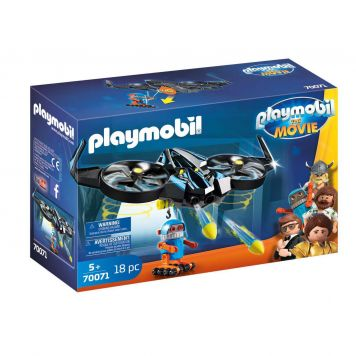 Playmobil 70071 The Movie Robotitron Met Drone