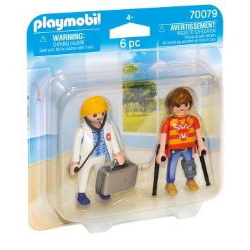 Playmobil 70079 Duopack Dokter En Patient