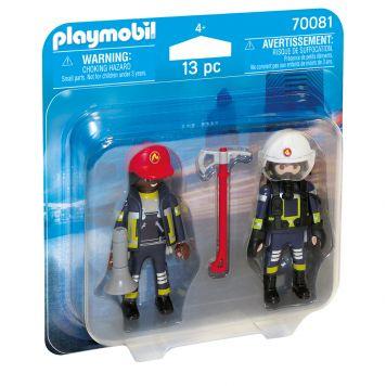 Playmobil 70081 Duopack Brandweerlui