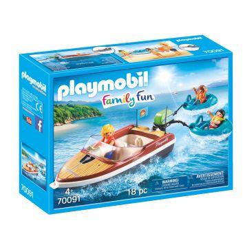Playmobil 70091 Motorboot Met Funtubes