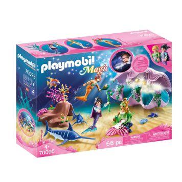 Playmobil 70095 Nachtlamp In Schelp Met  Zeemeerminnen