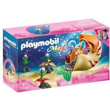 Playmobil 70098 Zeemeermin Met zeeslakken Gondel