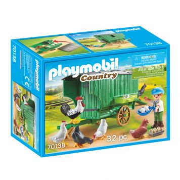 Playmobil 70138 Kind Met Kippenhok