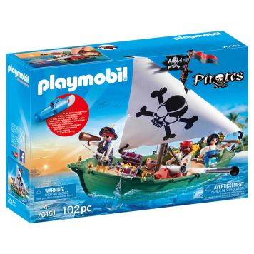 Playmobil 70151 Piratenschuit Met Motor