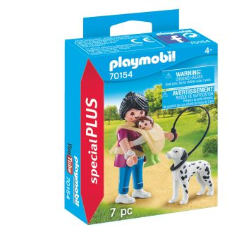 Playmobil 70154 Mama Met Baby In Draagzak