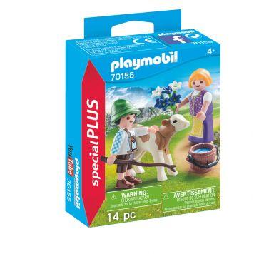 Playmobil 70155 Kinderen Met Kalf