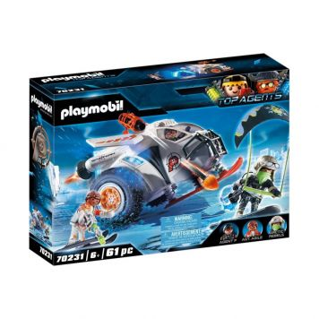 Playmobil 70231 Spy Team Sneeuwmobiel