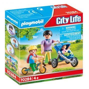 Playmobil 70284 Mama Met Kinderen