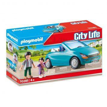 Playmobil 70285 Papa Met Meisje En Cabrio