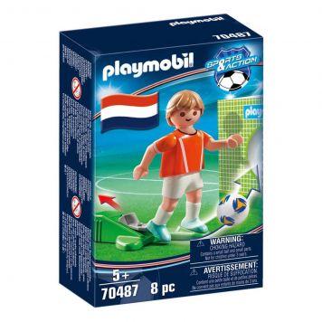 Playmobil 70487 Nationale Voetbalspeler Nederland