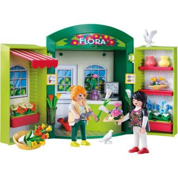 Playmobil Speelbox Bloemenwinkel