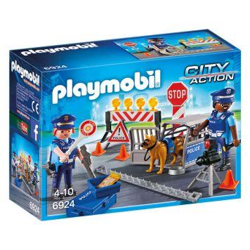 Playmobil 6924 Politie Wegversperring
