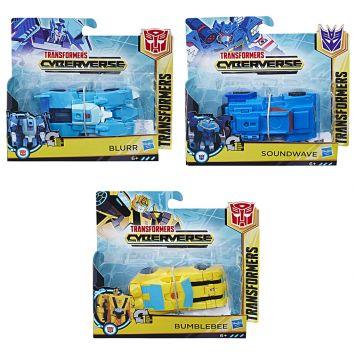 Transformers Cyberverse 1 Step Assorti