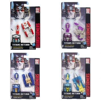 Transformers Generations Titan Masters Assortiment