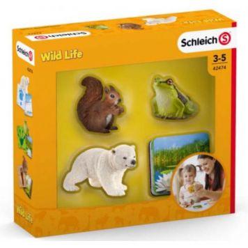 Schleich 42474 Schleich Kaarten Wild Life