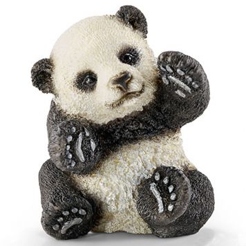 Schleich 14734 Jonge Panda, Spelend