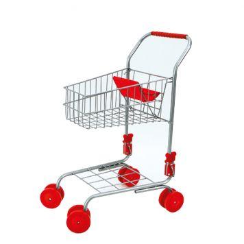 Winkelwagen Rood Metaal