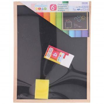 Schoolbord 6 Delig 30x22,5 Cm