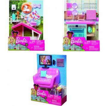 Barbie Meubels & Accessoires Indoor Assorti