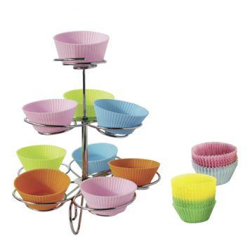 Cupcakestandaard Met Cups