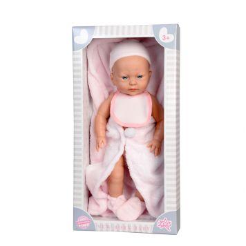 Baby Pop New Born Meisje Met Dekje