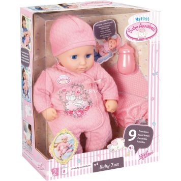 Pop My First Baby Annabell Babyplezier